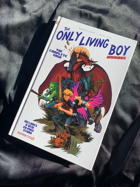 Image of The Only Living Boy Omnibus  Hardcover/Softcover Signed edition