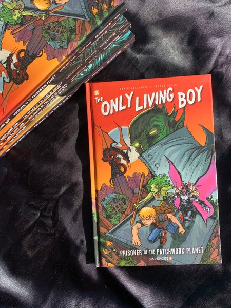 Image of Only Living Boy #1: Prisoner of the Patchwork Planet, Hardcover Signed edition