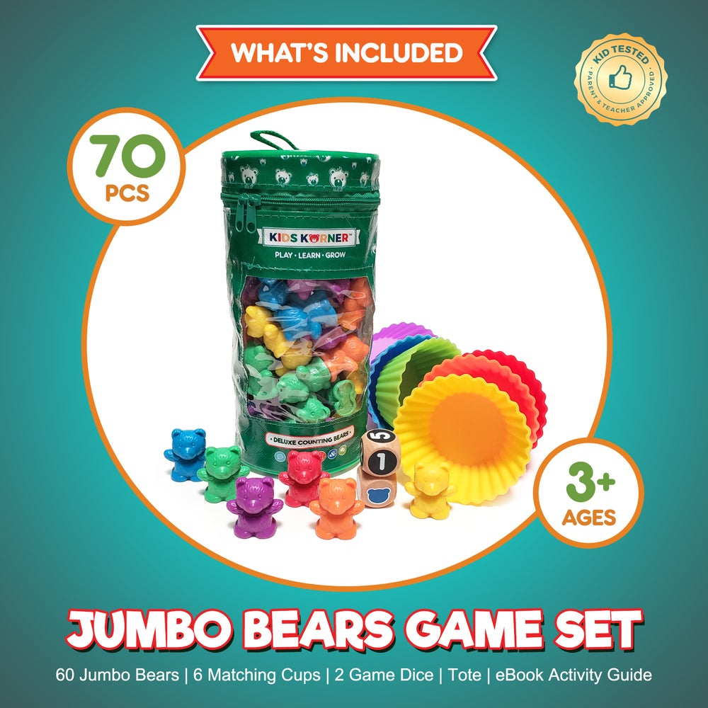 Image of Deluxe Counting Bears Game Set