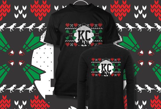 Image of Loyalty KC Ugly Christmas Shirt|Sweatshirt