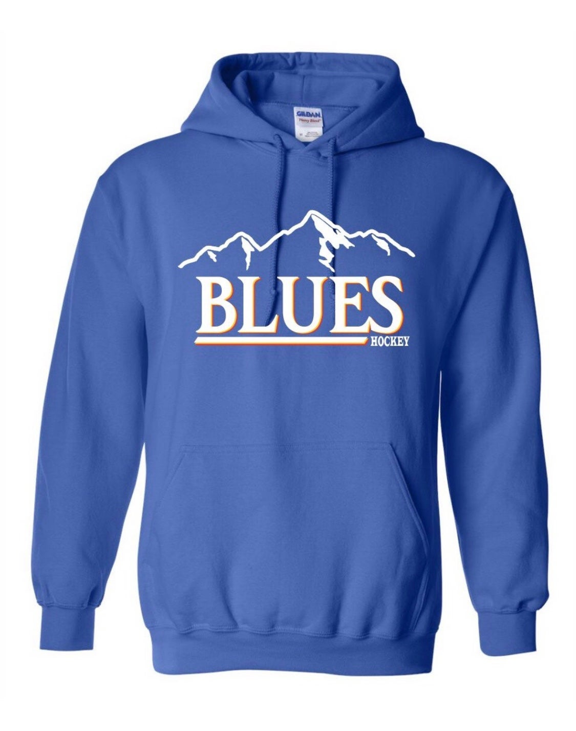Image of Vintage Blues/Busch Hoodie (Blue)