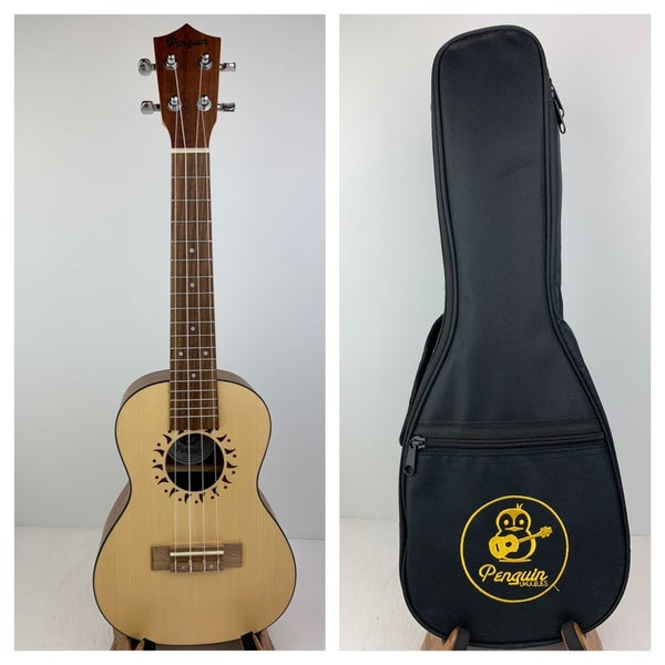Image of Penguin Spruce Top Soprano  with Soft Case