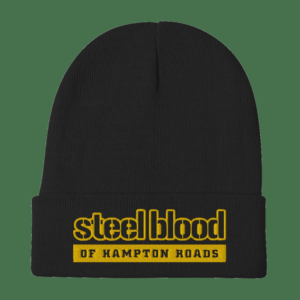 STEEL BLOOD OF HAMPTON ROADS - SBHR TERRIBLE LOGO - BEANIE