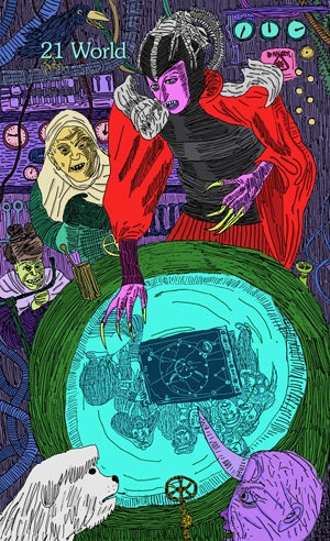 The Video Tarot by Arnell and Teppei Ando
