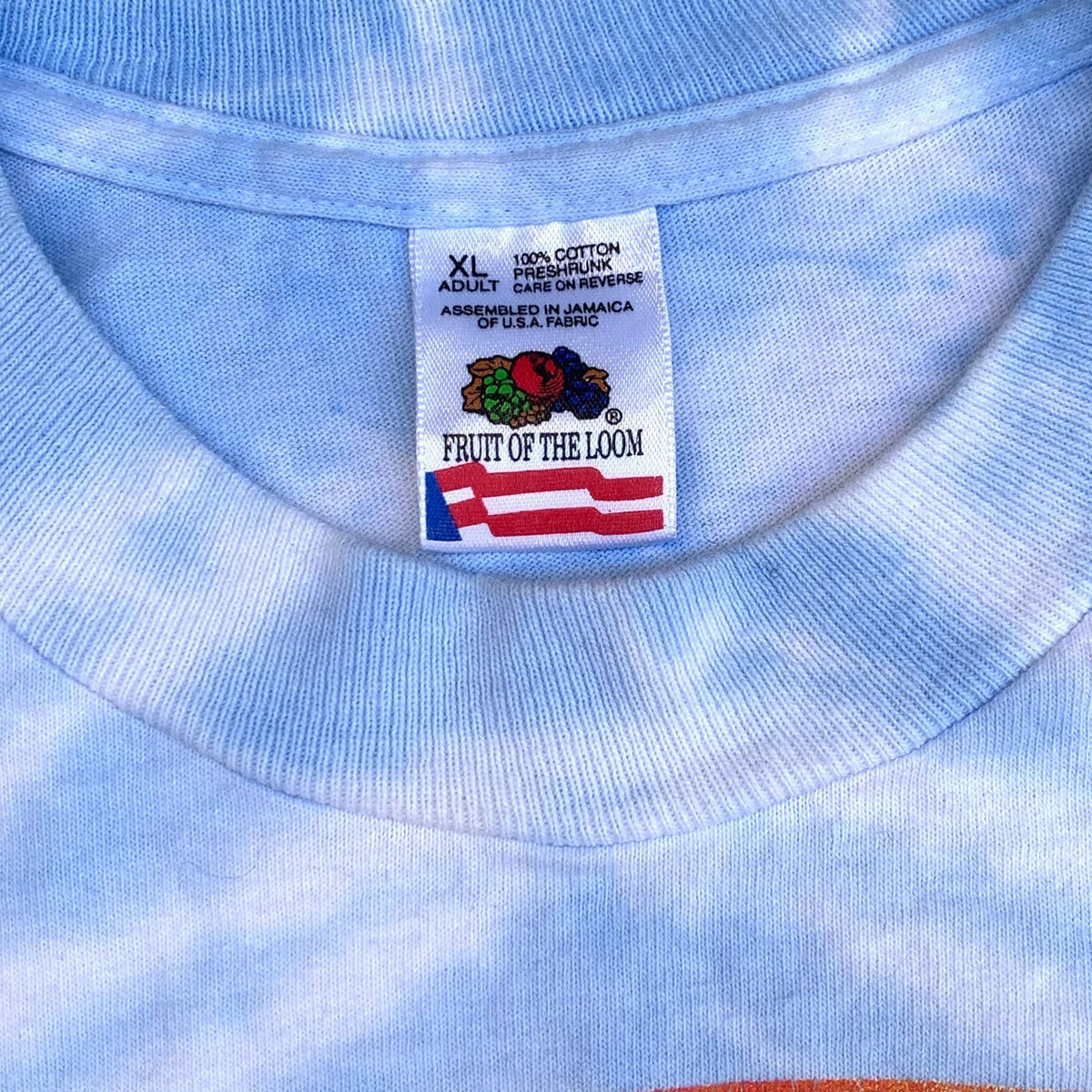 Original Vintage Grateful Dead 90's USA Ski Team Tee! XL