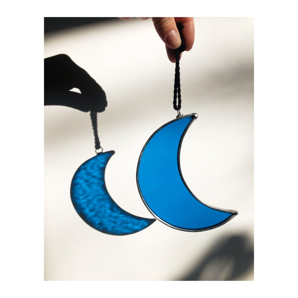 Image of Crescent Moon Royal Blue