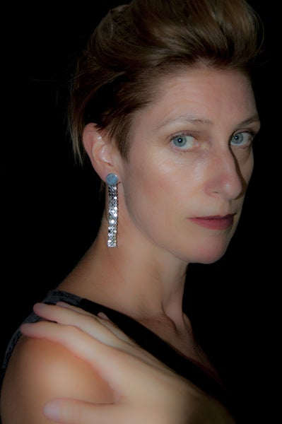 Image of Boucle d'Oreilles Longues / Long Earrings SEQUINS by LYE*