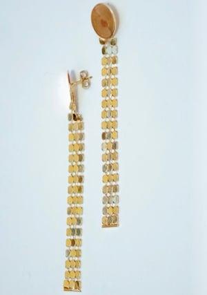 Image of Boucle d'Oreilles Longues / Long Earrings SEQUINS by LYE*