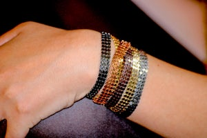 Image of Gourmette simple / Simple Gourmette SEQUINS by LYE*