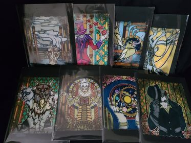 Image of  Oddfellows Oracle Cards Set of 8