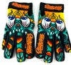 Slowdown Skull Gloves Size Large