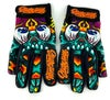 Slowdown Skull Gloves Size Medium