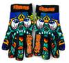 Slowdown Skull Gloves Size X-Large