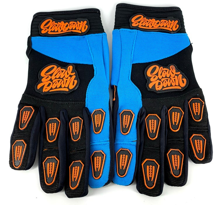 Image of Slowdown Blue and Orange Gloves