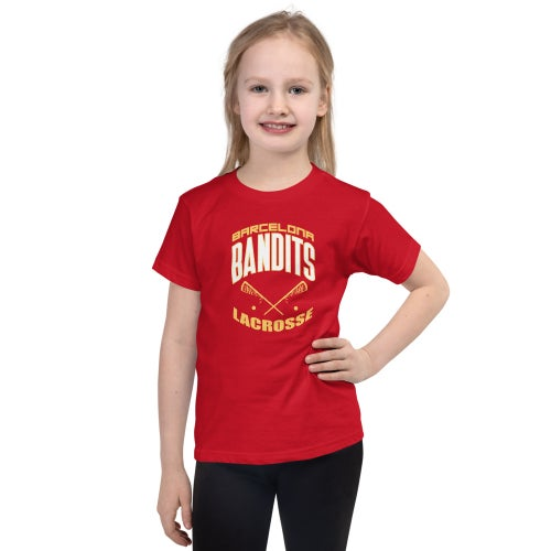 Image of Youth Team Bandits T-shirt - Red