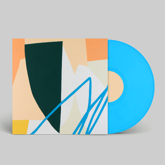 "Image of Ivory 'Light Through Water' Ltd. Edition 12"" Blue Vinyl"