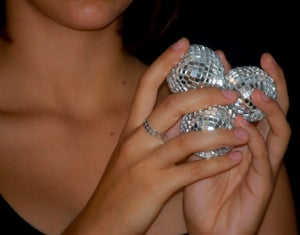 Image of Bague Fine / Thin Ring SEQUINS by LYE*