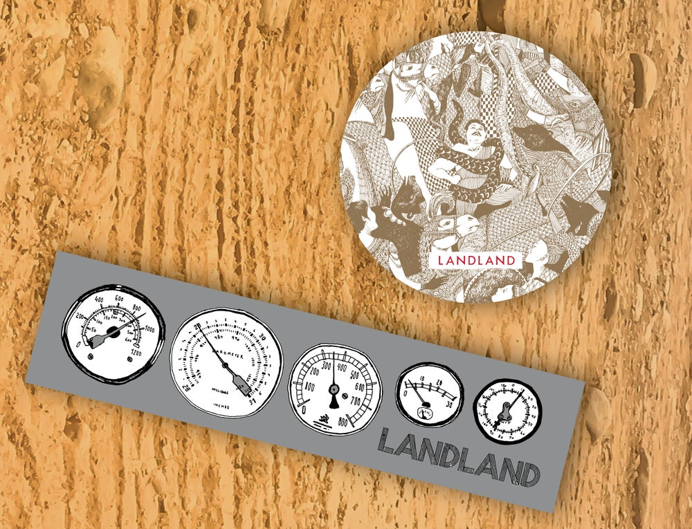 NEW Landland Assorted Stickers (available in packs & individually)