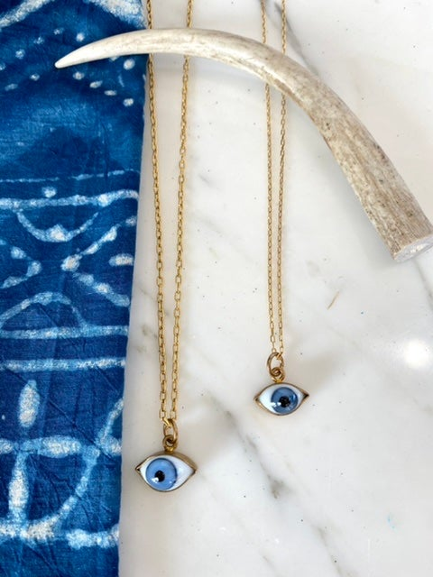 Eye Love Blue Necklaces