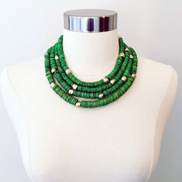 Image of Green Collar Necklace