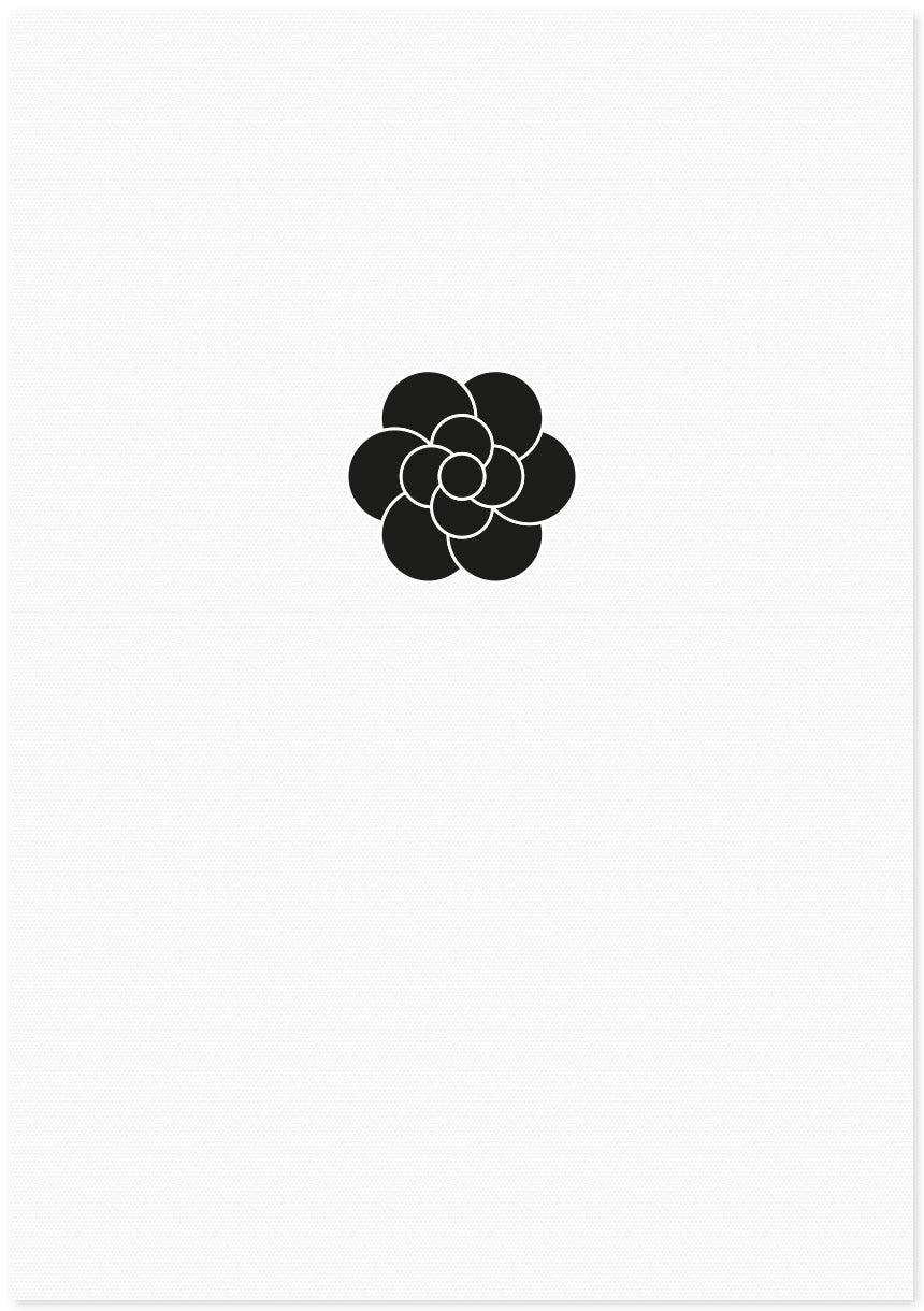Image of flower | small black