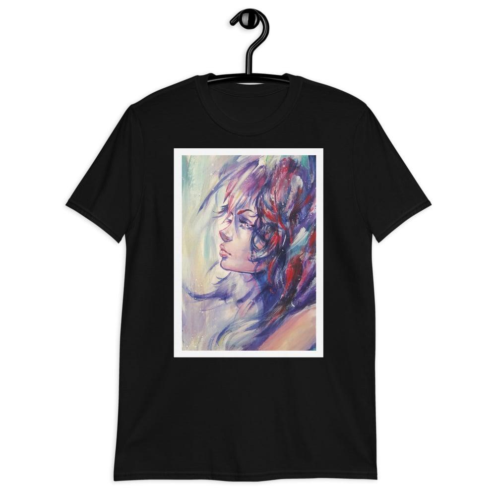 """Image of Unisex Basic Softstyle """"Indigo"""" T-shirt"""