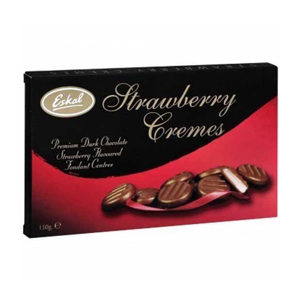 Image of Eskal Strawberry Cremes  - 150g