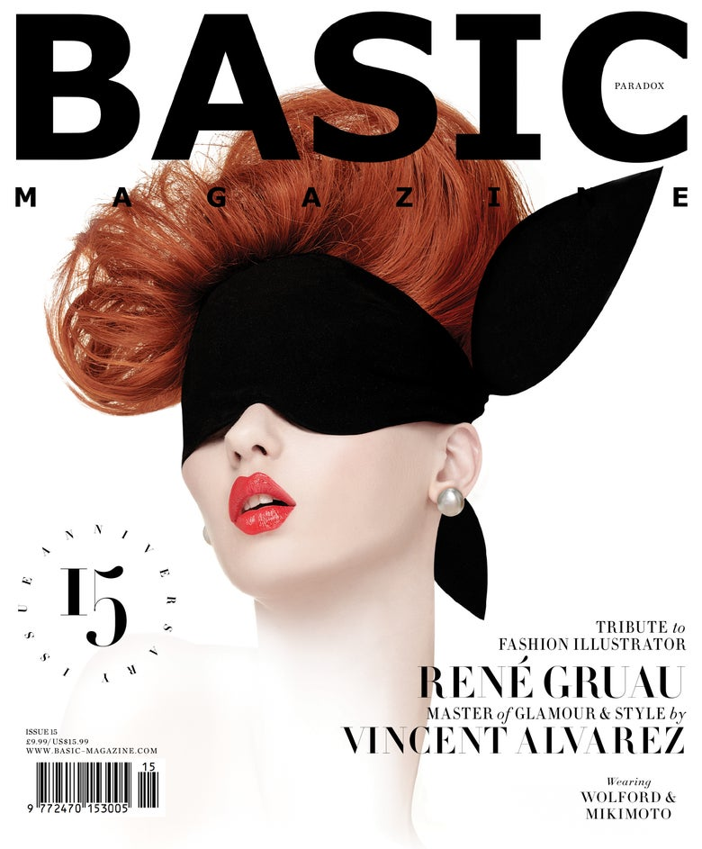Image of BASIC  Rene Gruau Cover || PARADOX  Issue 15