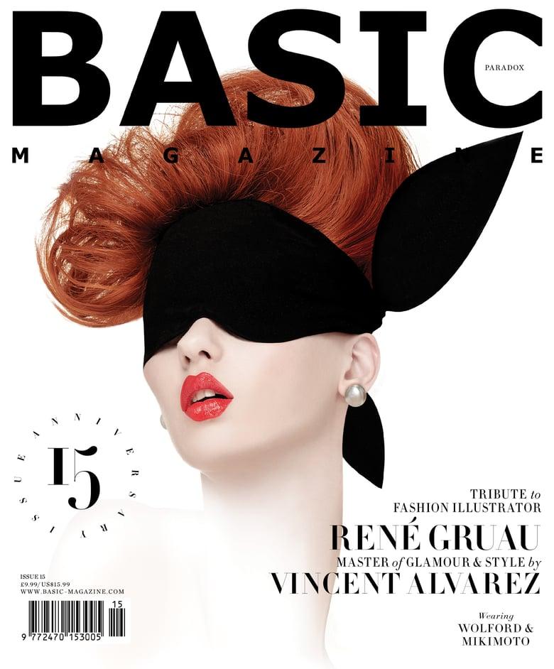Image of BASIC  Rene Gruau Cover || PARADOX  Issue 15