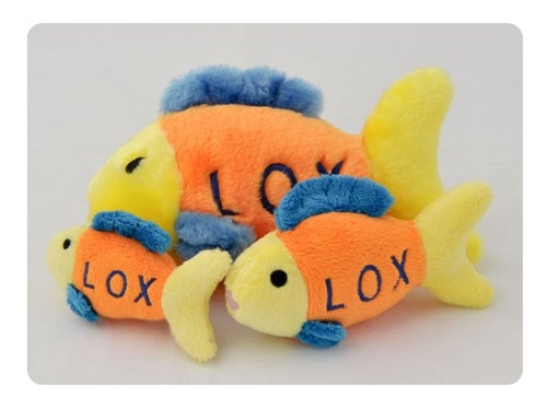 Lox the Fish - Dog Toy