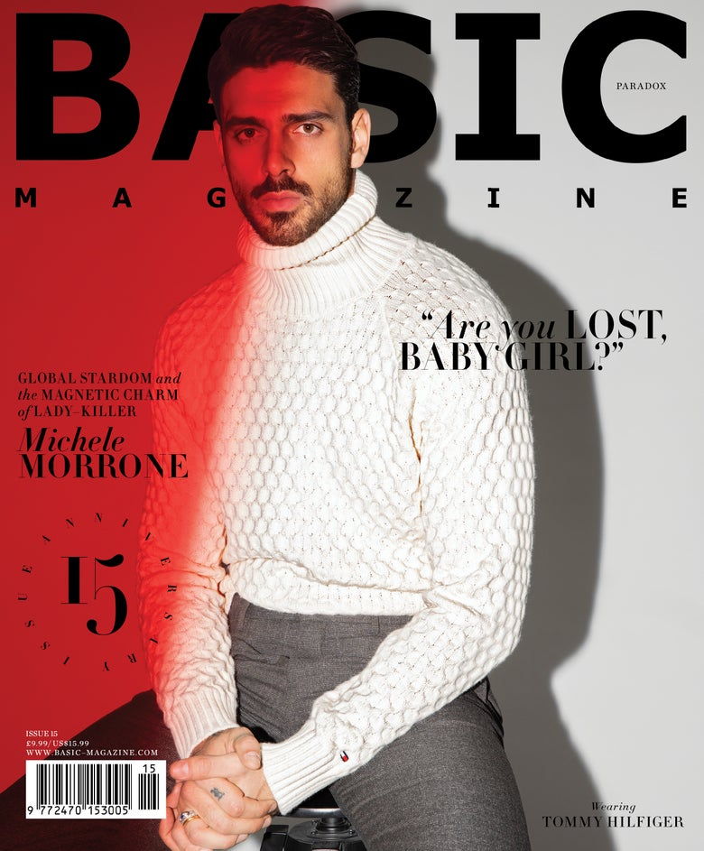 Image of BASIC  Michele Morrone Cover || PARADOX  Issue 15