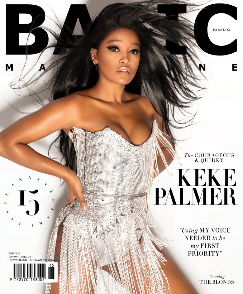 Image of BASIC  Keke Palmer Cover || PARADOX  Issue 15