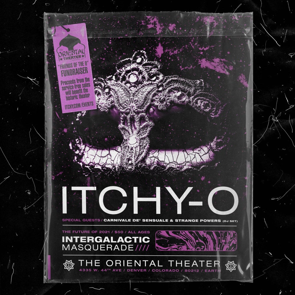 Image of 1 ticket to Itchy-O show in 2021