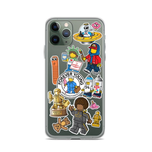 "Image of ""Sticker"" iPhone Cases"