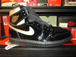 "Image of Air Jordan I (1) Retro High OG ""Blk/Metallic Gold"""