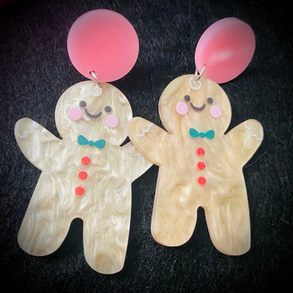 Image of Gingerbread Earrings