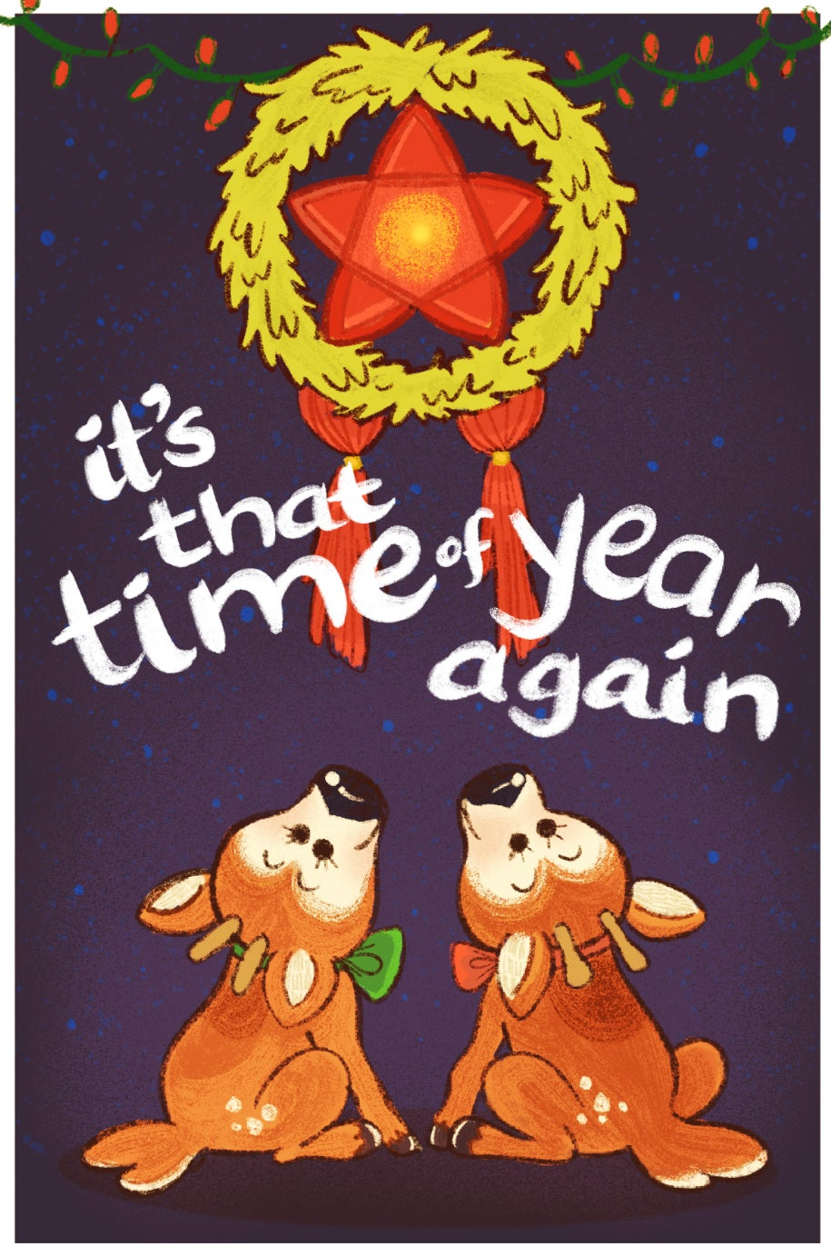 That Time of Year Postcard