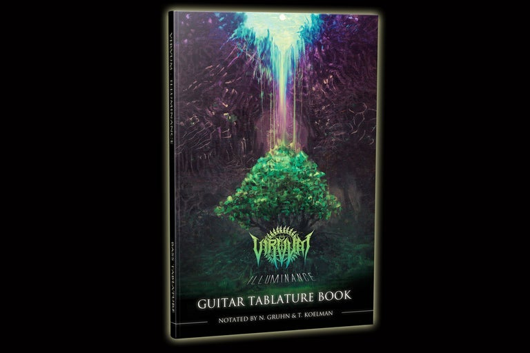 """Illuminance"" Official Guitar Tablature Book (European Stock)"
