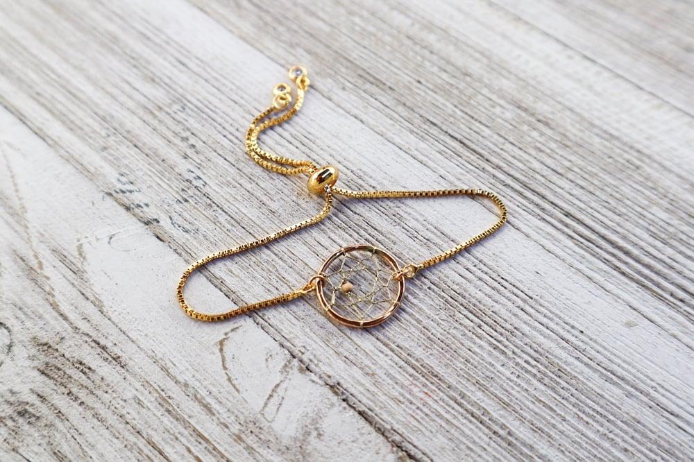Image of Mini Dream Catcher Adjustable Bracelet