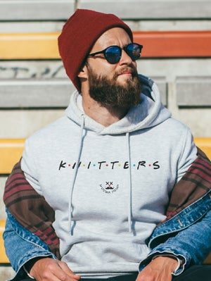 Image of Sudadera KNITTERS - GRIS-
