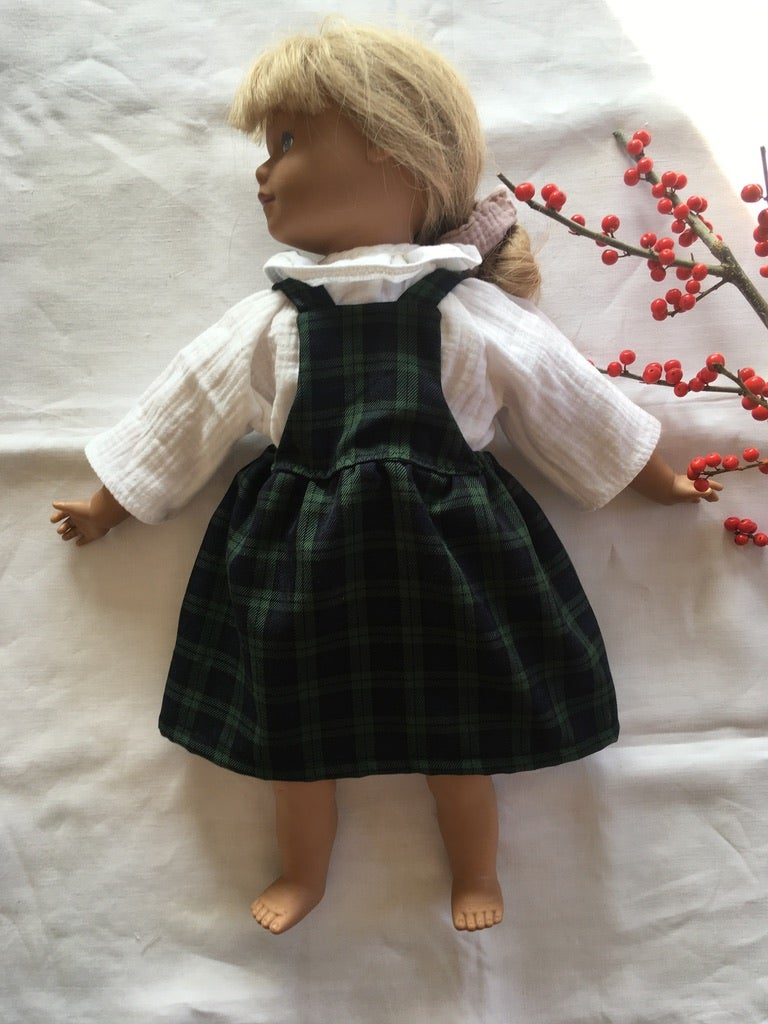 Pinafore Dress-dolls version