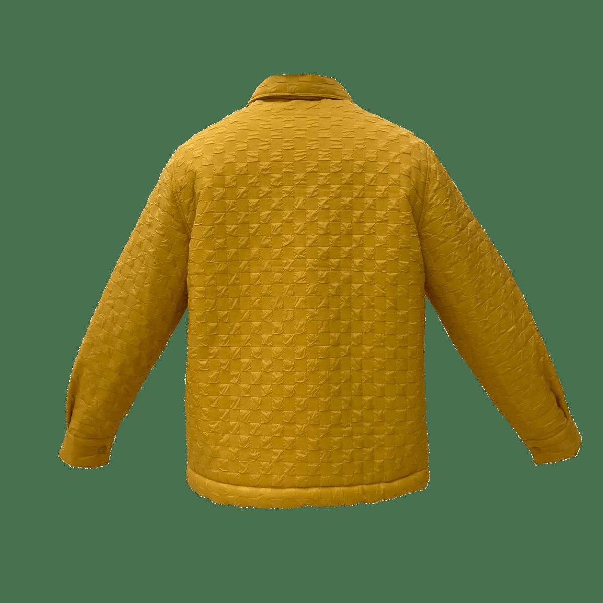 Image of Scorpio Puff Coach Jacket Yellow