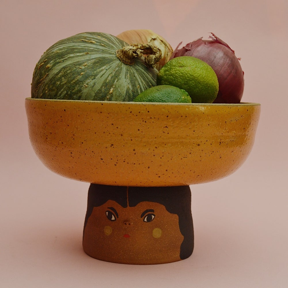 Image of The Fruit Lady Mustard Fruitbowl