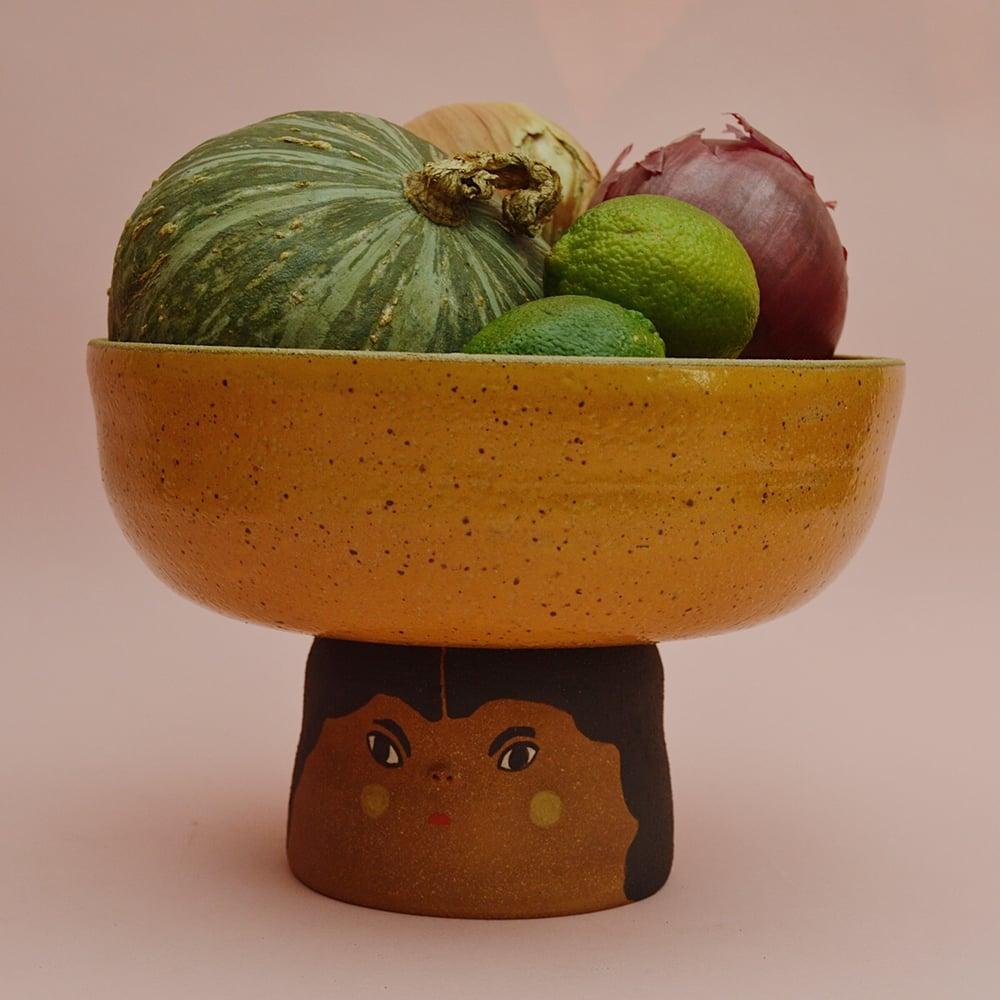 Image of The Fruit Lady Mustard Fruitbowl
