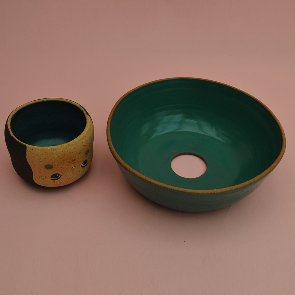 Image of The Fruit Lady Emerald Fruitbowl