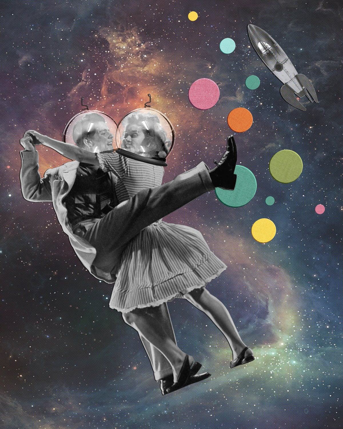 Space Dancers // LIMITED EDITION PRINT