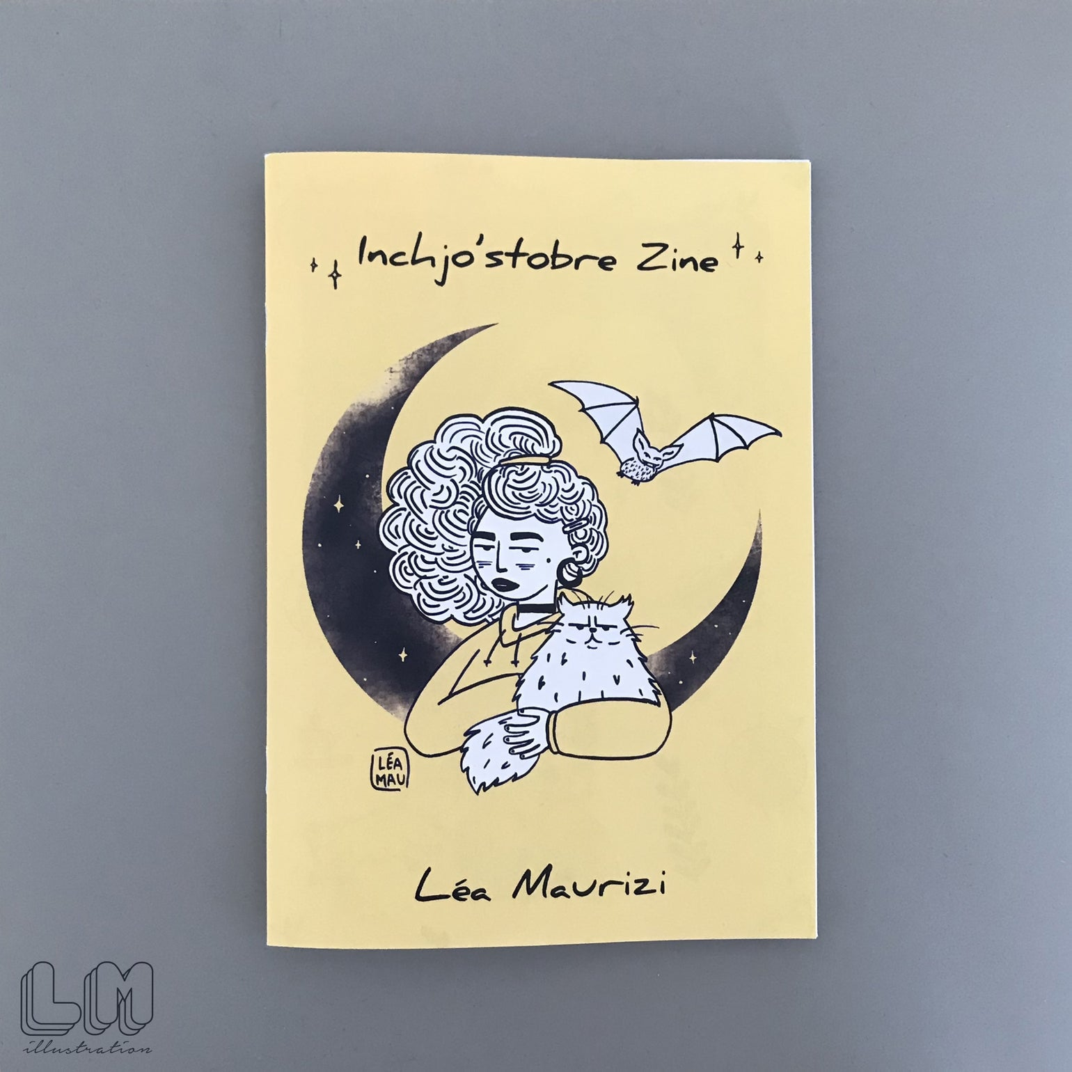 Image of Zine Inchjo'stobre - Recueil d'Illustrations