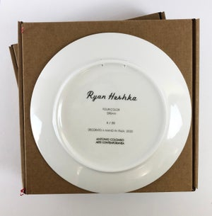 Image of Four color dream / Limited edition plate