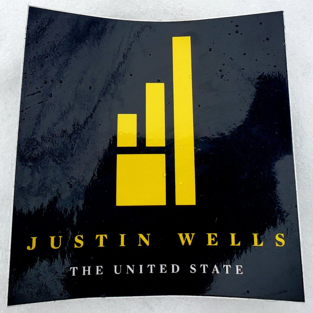 Justin Wells The United State sticker