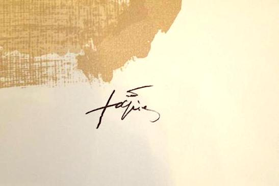 Image of antoni tapies / letter A / 22/091